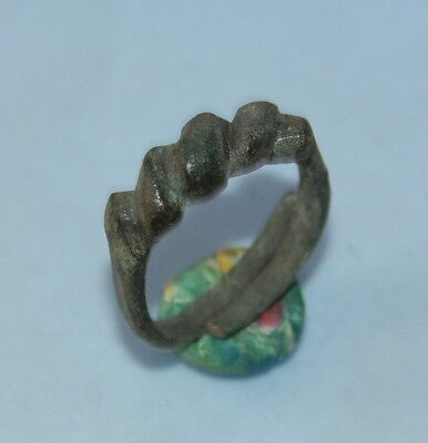 Ancient Old Viking Bronze Ring (MA40)