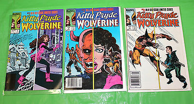 Kitty Pryde and Wolverine 1 2 3 F-VF - Chris Claremont - 3 issue lot - 1984