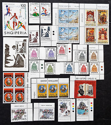 Albania Stamps Complete Mnh Sets 1997 $46 Value