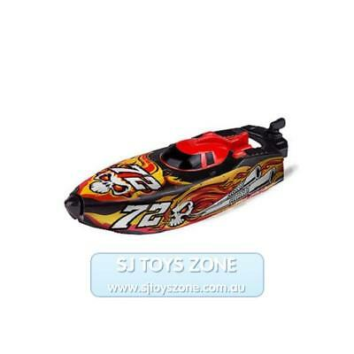 Zuru Micro Boats Series 2 Jet Fire Fully Motorised Speed Boat Kids Toy - Yellow