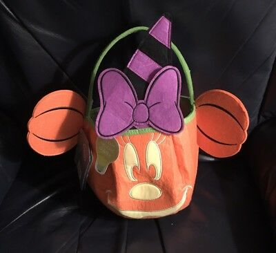 Minnie Mouse Trick Or Treat Bag!! NWTS!!