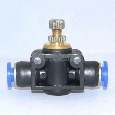 Pneumatic Push In Fittings / Connectors for Air or Water Hose - Push Fit Tubing