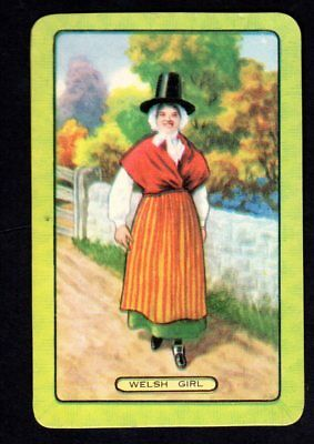 Coles Swap Card - Welsh Girl