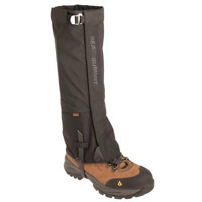 NEW! Sea to Summit Overland Gaiters Large 41-45 (Grey) ARGL