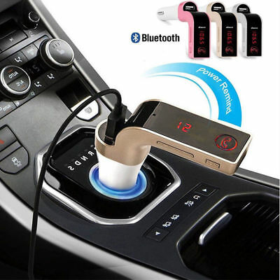 AUX Wireless Bluetooth FM Transmitter Kit Car MP3 Music Player Radio & USB Port