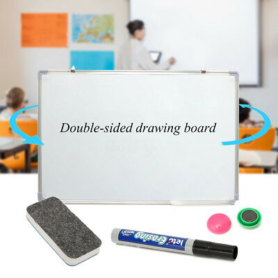Portable 600mmx900mm Magnetic Office Teaching Whiteboard Erase Board & Eraser AU