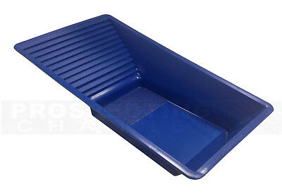 THE MAVERICK BLUE Gold Finishing Pan square EASY 2 USE New!