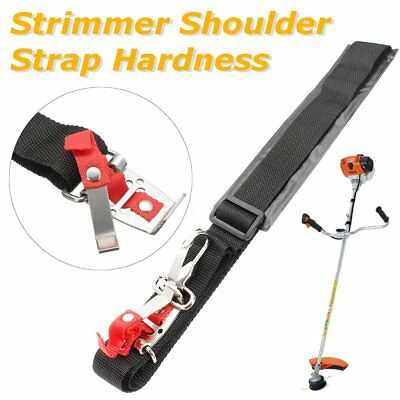 Strimmer Shoulder Single Padded Harness Strap Brush Cutter with Carry Hook
