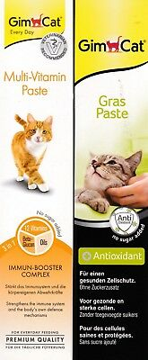 1 x GimCat Multi-Vitamin-Paste & 1 x GimCat Gras-Paste à 50 g
