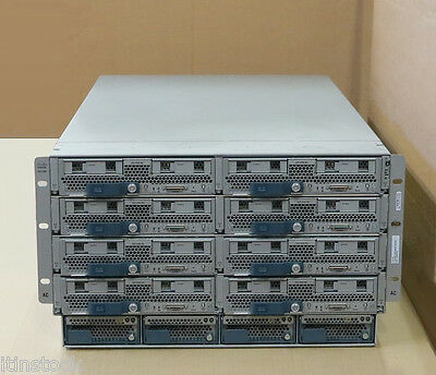 Cisco UCS5108 + 8x B200 M3 Blade Servers 16x EIGHT-CORE E5-2660 3TB (3072GB) RAM