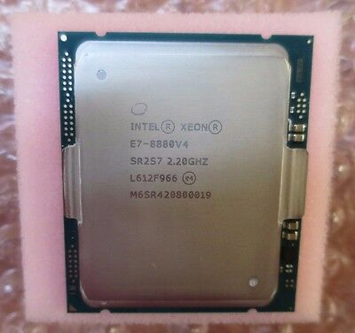 Intel Xeon E7-8880 v4 SR2S7 22-Core 2.20GHz 55M FCLGA2011 Server Processor CPU