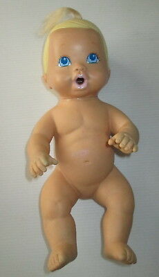 Vintage Coochy Coo Baby Rubber Doll ERTL Noisy When Squished