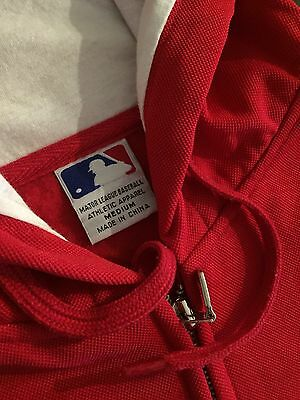 MLB St. Louis Cardinals Hooded Jacket baseball jersey jumper sweater Size M