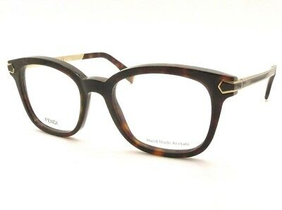 c947da4d3f FENDI FF 0024 7WG Matte Brown Gold New Authentic Eyeglass Frames ...