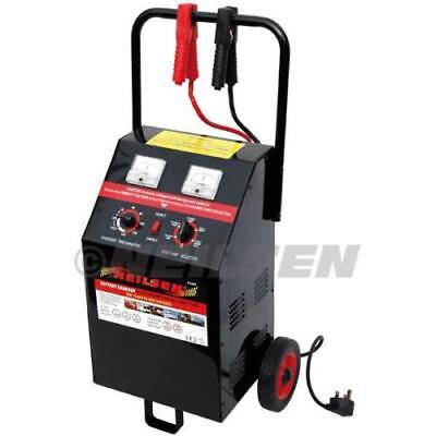 Heavy Duty 10- 200A 12V 24V Battery Charger Jump Starter Booster Car Vehicle Van