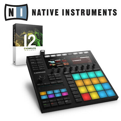 Native Instruments Maschine MK3 Studio Music Production Controller & Komplete 11