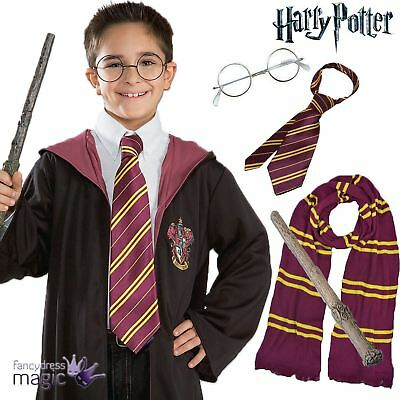 Official Harry Potter Hermione Book Day Halloween Fancy Dress Costume Wand Lot