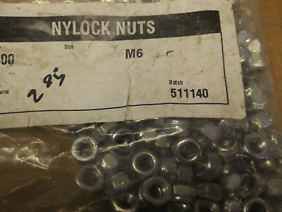 m6 nylock nuts