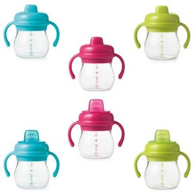 OXO Tot Transitions - 175ml Soft Spout Sippy Cup with Removable Handles