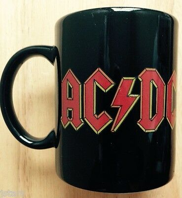 One (1) Ac/dc Rock Band Coffee Mug, Ac Dc, Made In Germany