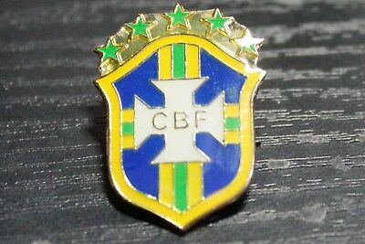 Brazil Football Fa Enamel Pin Badge