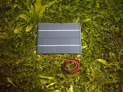 Monocrystalline Resin 4.5Watt Solar Panel For  Pondskater  Baitboat