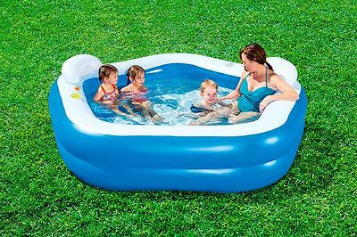 Bestway Pentagon Shaped Family Fun Swimming Pool