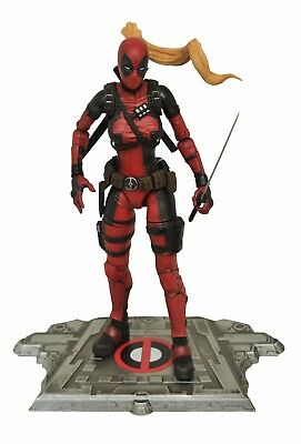 Marvel Select Lady Deadpool Action Figure, New In Stock
