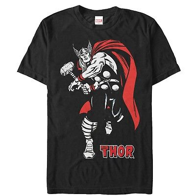 51f925c6 MARVEL FATHER'S DAY Thor Mighty Dad Hammer Mens Graphic T Shirt ...