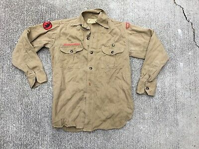Vintage Boy Scout uniform shirt 1940s Sweet Orr Oakland