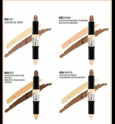 NYX WONDER STICK Highlight & Contour Stick -ALL 4 Shades Available NEW IN BOX