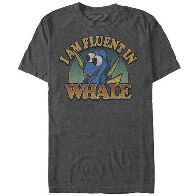 Finding Dory I am Fluent in Whale Mens Graphic T Shirt