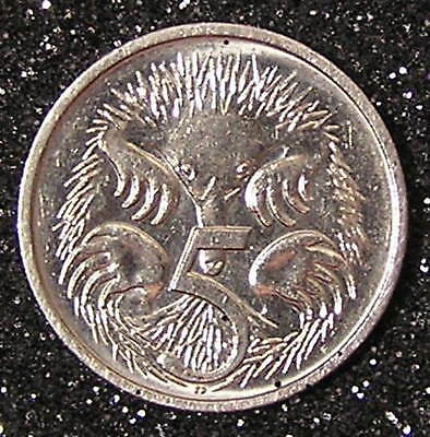 1-Coin from Australia.  5-Cents.  1993.