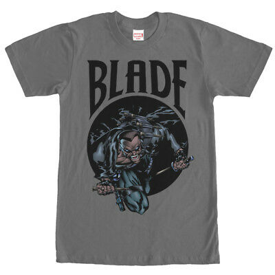 Marvel Blade Vampire Hunter Mens Graphic T Shirt