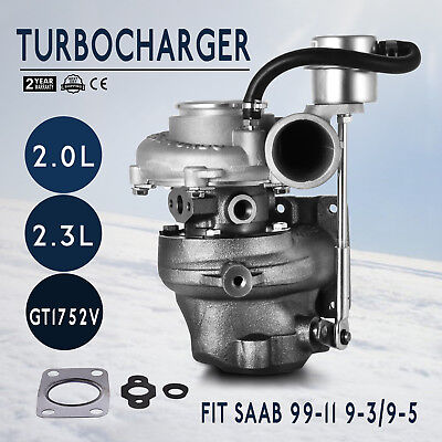 GT1752 Turbocharger for Saab 9-3 9-5 9.3 9.5 B205E B235E GT1752S 452204 HQ