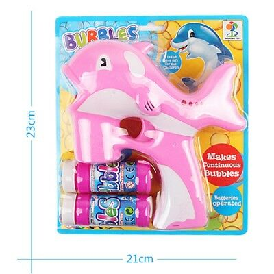 Light Birthday Bubble  Dolphin 1 Pcs  Funny Music Toys Children Baby
