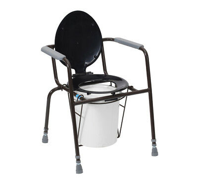 Drive Medical Kegworth Height Adjustable Chemical Toilet Commode