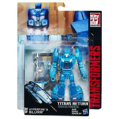 Transformers Titans Return Deluxe Blurr and Hyperfire NEW