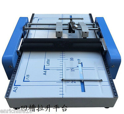 Electric A3 Binding and Folding Machine Staple Nail Binder Folder