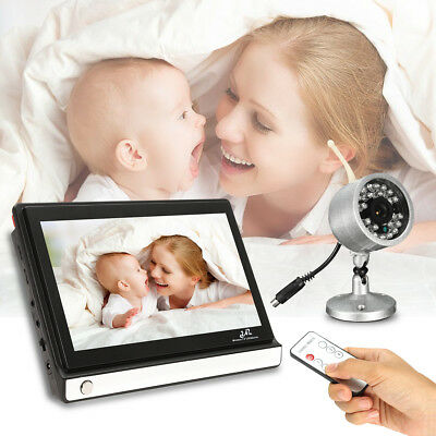 7'' LCD Screen Digital Wireless Video Camera Baby Monitor Home Safe Night Vision