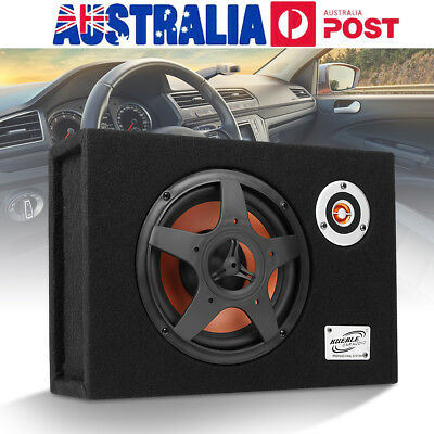 8 Inch 480W 12V Active Ultra-Thin Car Subwoofer Modified Speaker Audio Amplifier