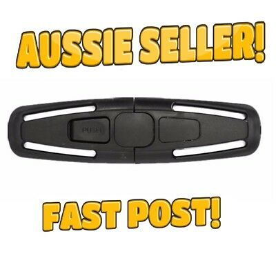 Safety Slide Buckle Baby Kids Car Seat Safety Chest Harness Clip New Aus