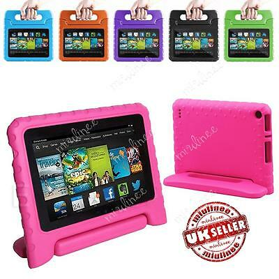 "US For Amazon Fire 7 7"" 2017-2015 Tablet Kids Safe Shockproof Handle Case Cover"