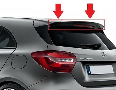 New Genuine Mercedes Mb A Class W176 A45 Amg Rear Trunk Boot Spoiler Night Black
