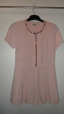 Girls Teens Playsuit Age 16 years NEXT Pink sparkly gems STUNNING - FREE p&p (i)