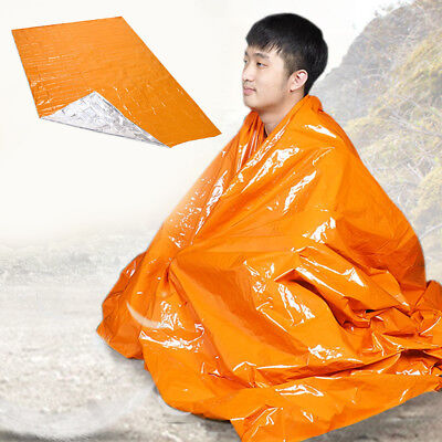 Emergency Blanket Thermal First Aid Survival Foil Rescue Body Heat Blanket New