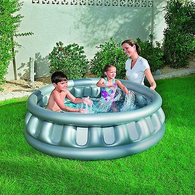 Bestway Spaceship Inflatable Splash N Play Summer Time Outdoor Fun Playing Pool