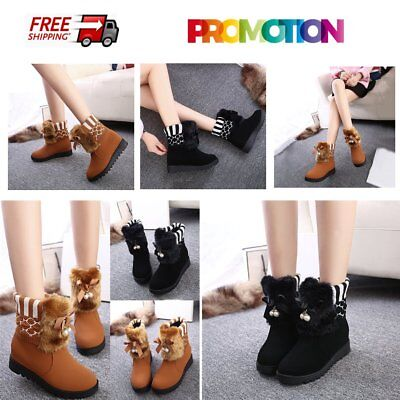 Flat Lace-up Ankle Boots Winter Comfortable Cotton Boots Popular Female Boots GT