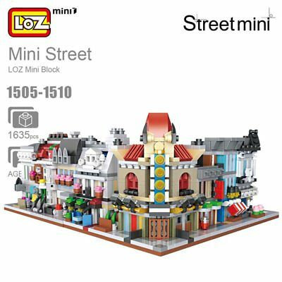 LOZ MINI Street Scene DIY Mini Nano Lego Block Diamond Building Toy