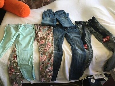 Lot of 5 pairs of size 3 jeans